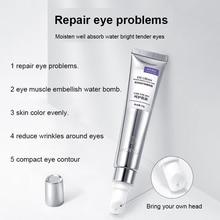 1 pièces Anti-âge crème pour les yeux supprimer les cernes poches éclaircir les ridules crème pour les yeux blanchissant hydratant outil de soin des yeux TSLM1
