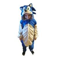 Комбинезон для детей, пижама в виде животных, флисовый детский Кигуруми для девочек, мультяшный фильм костюм для мальчиков для косплея, цель...