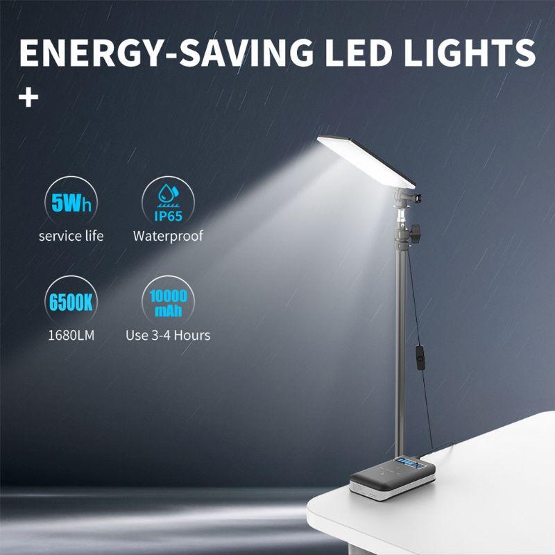84 stücke LED USB Lampe Mit Stative LED Licht für Camping Live-Stream Video Fotos XXUC