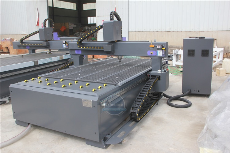 HQD Spindle 1325 Acrylic And Mdf Cnc Router 1325 Aluminum Cnc Router In Italy enlarge