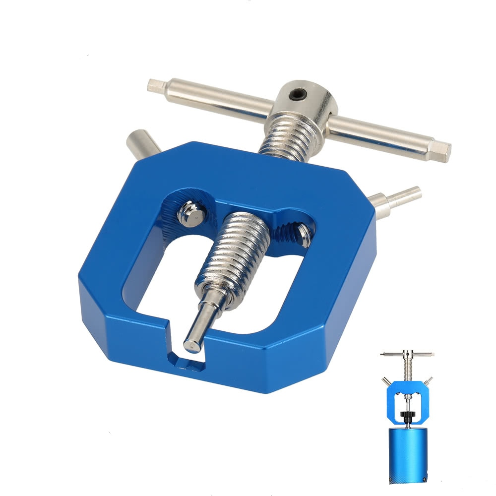 Azul de Extractor de rodamientos Extractor herramienta Durable de Metal completo Motor de aleación de aluminio de 56mm para 1/10 H-SP HPI camión coche de Control remoto