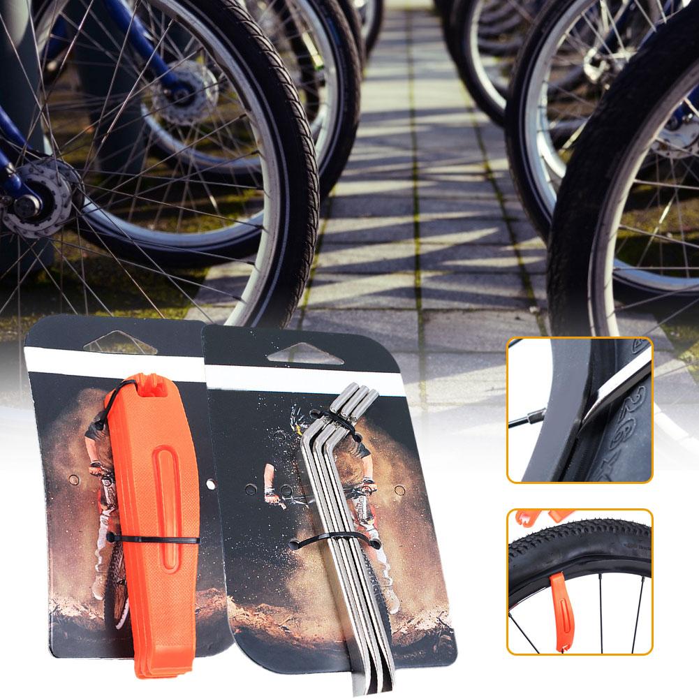 Высококачественные велосипедные нейлоновые шины 3 шт., Рычажные Стальные шины, шины для горного велосипеда, пластиковые шины для ремонта, бы...
