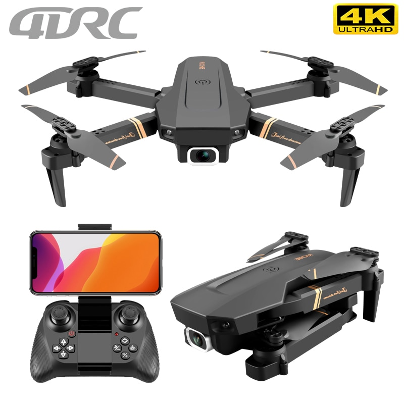 4DRC V4 RC drone 4k WIFI live video FPV 4K/1080P drones with HD 4k Wide Angle profesional Camera quadrocopter dron TOYs