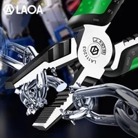 laoa multi function diagonal cutting pliers 7inch wire stripping pliers fishing pliers electrician tools