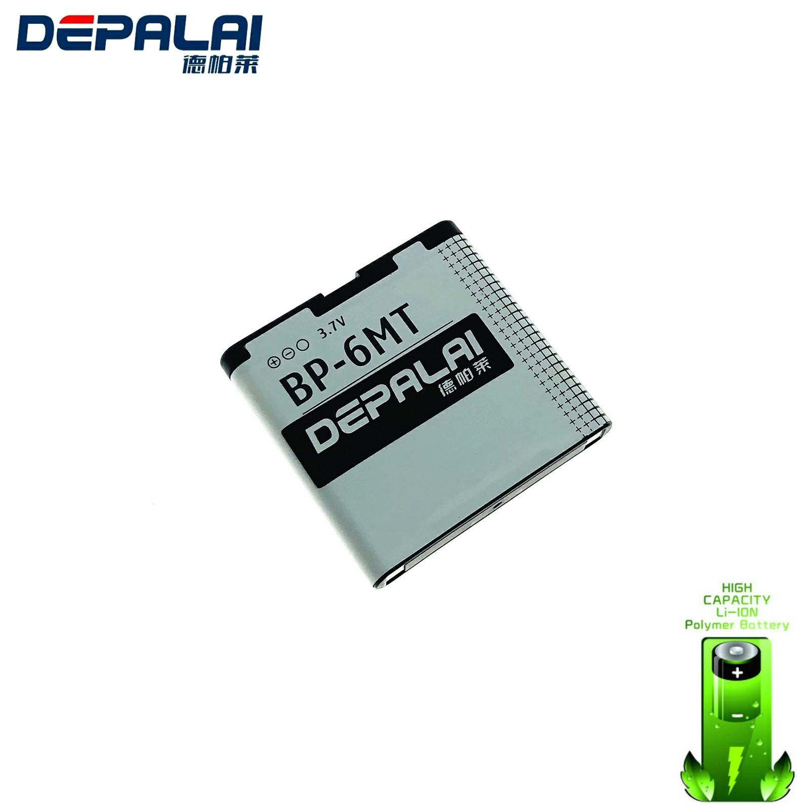BP-6MT BL-6MT BP6MT 6MT Mobile Cell Phone Battery Batteries Bateria for Nokia 6720c E51 N81 N82 batt