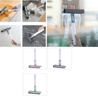 squeegees glass cleaning wiper brush car window wiper double sided cabo tools mirror cleaning tackle comes with watering can