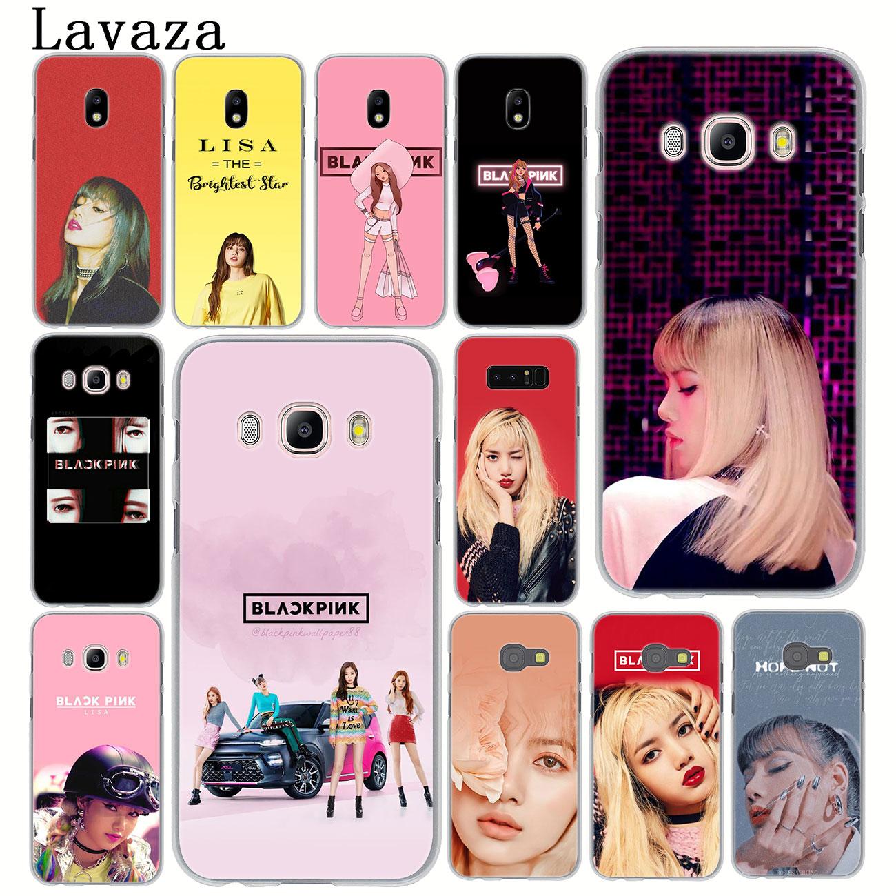 Lavaza BLACKPINK lisa caso de teléfono para Samsung Galaxy J8 J7 Duo J4 J5 J6 Plus 2018 de 2017 de 2016 J2 J3 primer 2015 cubierta