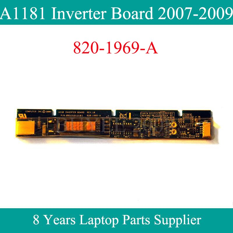 "Original A1181 Inverter Board 820-1969-A Für Macbook Air 13.3 ""A1181 LCD Inverter 2006 2007 2008 2009 Jahr"