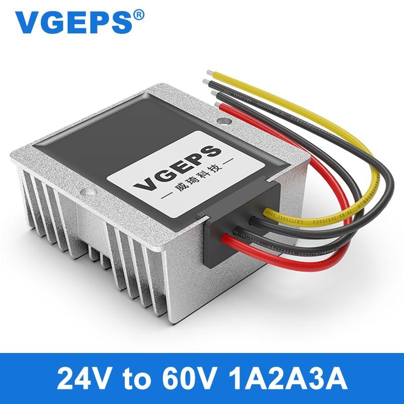24V to 60V car power module 24V to 60V DC converter 24V to 60V waterproof boost module недорого