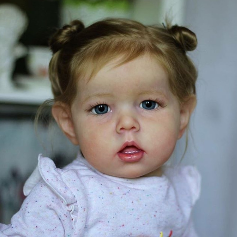 20inch Diy Toy Popular Reborn Doll Kit Liam No Teeth Full Body Cloth Lifelike Real Touch Unpainted Doll Parts Kit Bonecas
