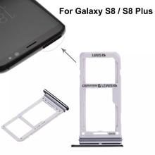 Dual SIM Card Tray \ Micro SD Card Tray For Samsung Galaxy S8 \ S8 Plus