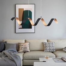 Artpad 북유럽 알루미늄 펜 던 트 램프 거실 레스토랑 커피 숍 매달려 램프 20 w led 따뜻한 조명기구 110 v 220 v