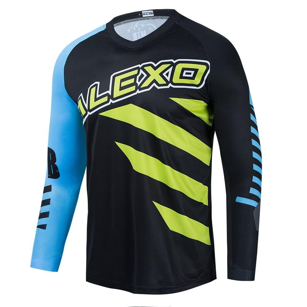 Maillot De Motocross Para Hombre, Camiseta De manga larga De secado rápido,...