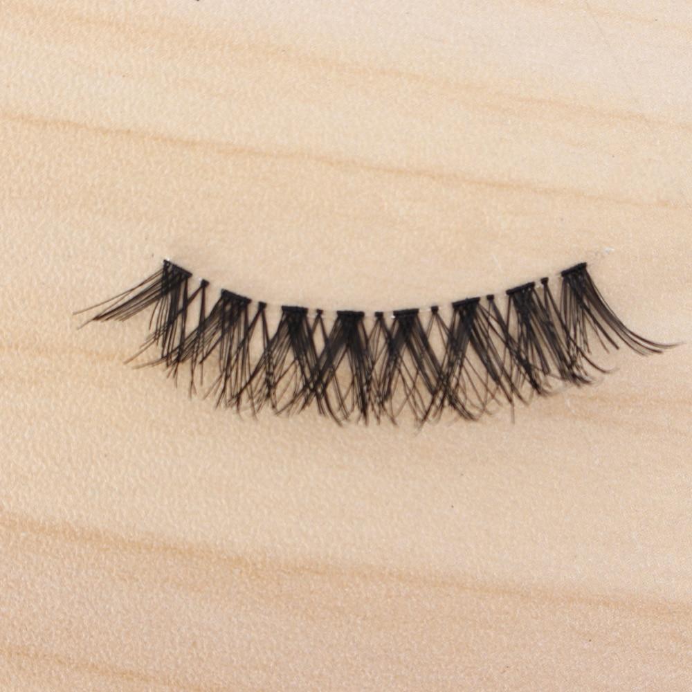5 Pair False Eyelashes Soft Natural Long Cross Handmade Thick False Eyelashes Extension Women Girls Beauty Cosmetic Makeup Tools