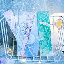 30 Teile/schachtel Nette Raum Lesezeichen Kawaii Katze Lesezeichen Neuheit Papier Buch Marks Für Kinder Geschenke Schule Bürobedarf Schreibwaren