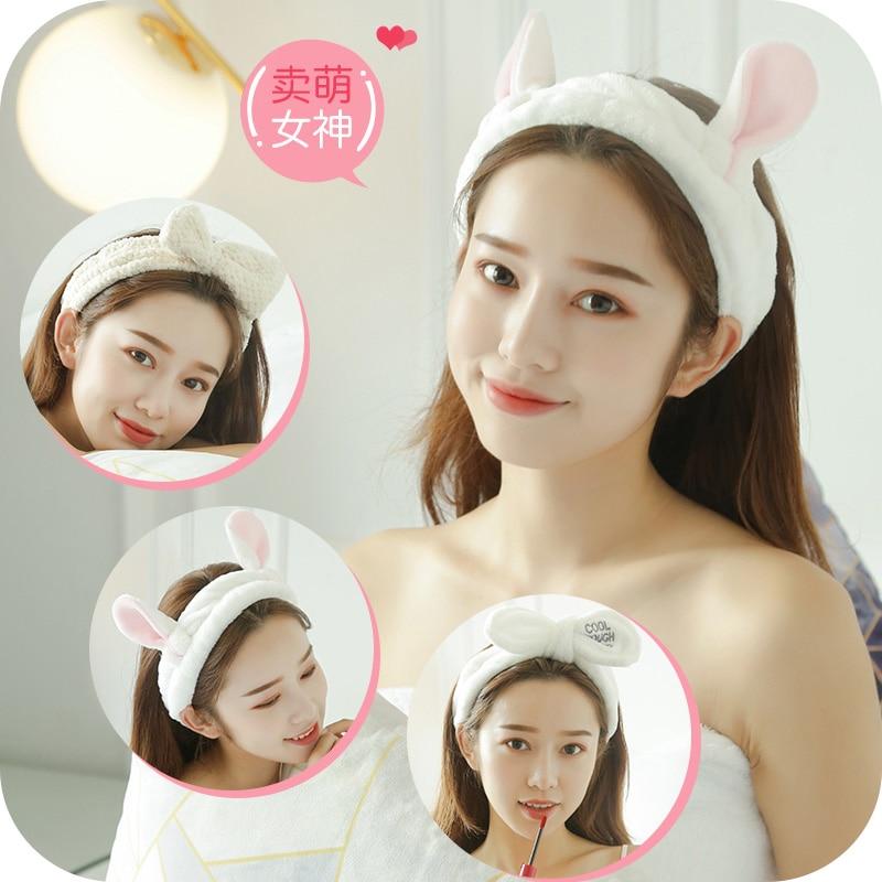Internet Celebrity Headband for Washing Face Female Minimalist Makeup Hair Band Hair Band Head Band