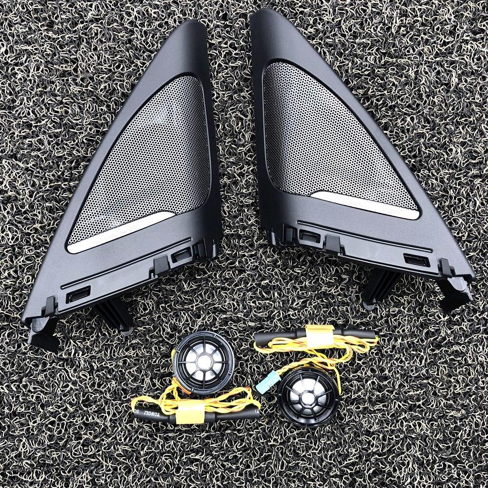 Автомобильные твитеры для BMW F34 3GT серии Высокое качество hifi тройной динамик Звуковая Труба Рог наклейки отделка динамик плюс крышка