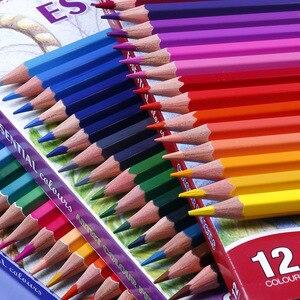 Mengmate 36 Color Pencil Set 12 Color Children's Art Painting Color Lead Easy Color Pencil