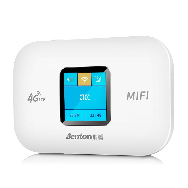HUASIFEI Unlocked/Wireless/Portable Router 4G Sim Card LTE Modem150Mbps High Speed Hotspot Pocket Wi-Fi Broadband Network