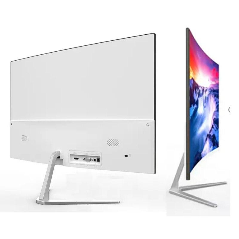 مصنع Oem شاشة كمبيوتر شخصي 32 بوصة 4K شاشة منحنية شاشة كاملة 1080p LCD شاشة عرض ألعاب