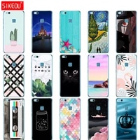sikeou cover phone case for huawei p10 lite plus 2017 oft tpu silicone 360 full protection phone funda cases