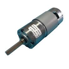 Moteur de réduction de boîte de vitesse de puissance élevée de moteur de vitesse de cc 12V avec le moteur CW et CCW 775