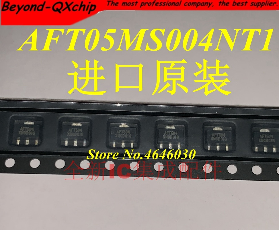 5 unids/lote AFT05MS004NT1 AFT504 AFT05MS004N SOT-89 nuevo original