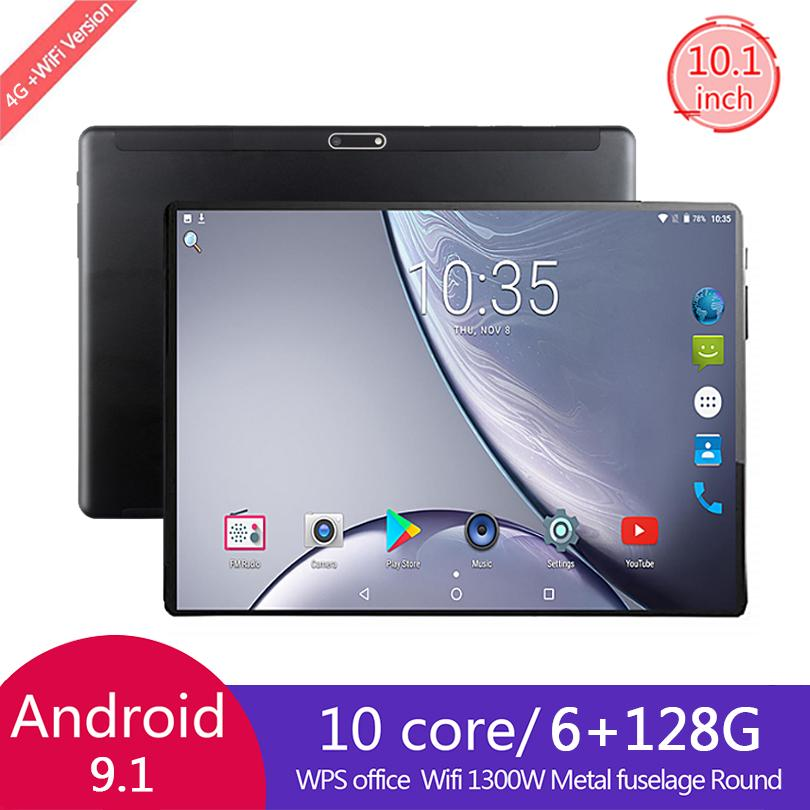 2021 Newest 10 Inch tablet Android 8.0 Octa Core 6GB RAM 128GB ROM 3G 4G FDD LTE Wifi Bluetooth GPS