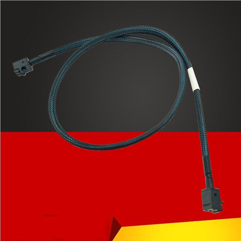 80 см Mini SAS HD SFF-8643-SFF-8643 SATA HD кабель 12 Гбит/с кабель объединительной платы для серверной материнской платы жесткий диск Raid Mini SAS кабель