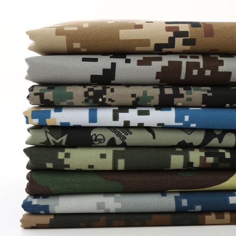 Frete grátis 1m * 1.5 pano de camuflagem pesada para o treinamento militar uniforme e digital mesa camuflagem tecido