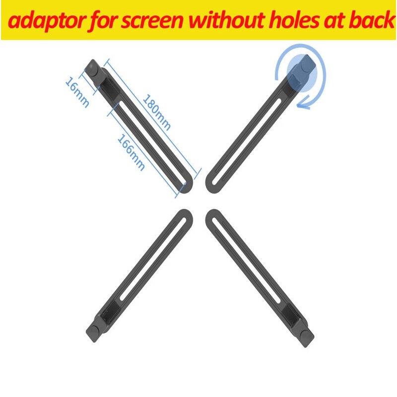 """VESA100X100 10-27 """"ЖК-телевизор настольный монитор Поддержка экрана pad планшет кронштейн зажим адаптер для экрана без отверстия"""