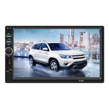 Автомобильный MP5 плеер USB аудио Bluetooth fm-передатчик U диск ЖК-дисплей зарядное устройство адаптер дистанционное управление Рулевое колесо управление s