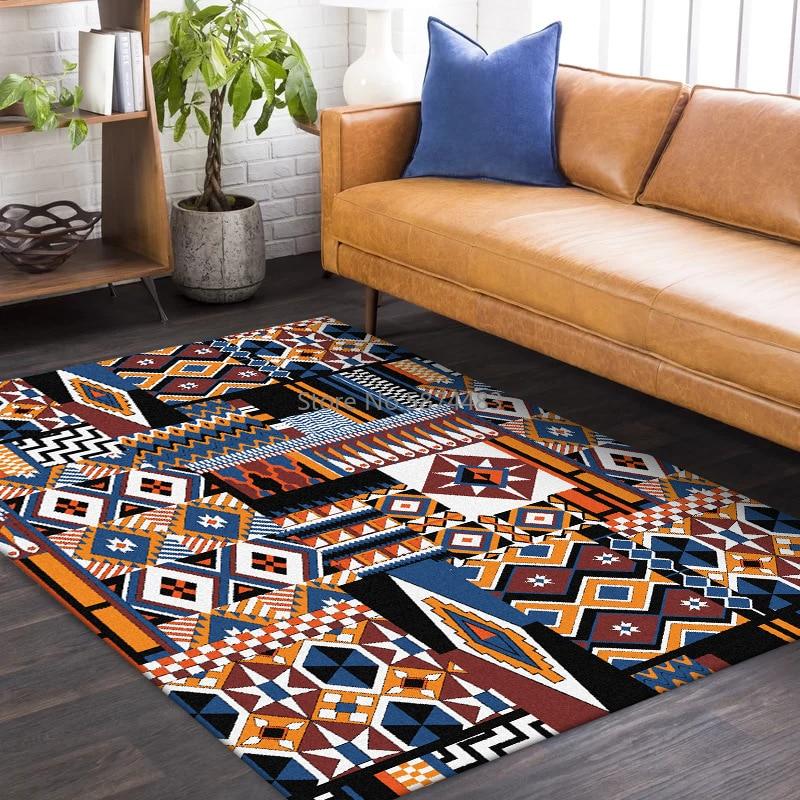 سجادة أرضية على الطراز الفارسي ، 200 × 300 سنتيمتر ، خياطة هندسية ، لغرفة المعيشة ، غرفة النوم ، باب المطبخ ، طاولة السرير