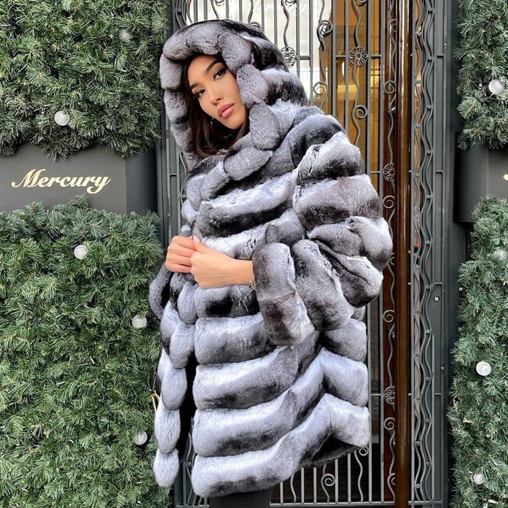Фото - Женское зимнее пальто средней длины, с капюшоном пальто средней длины с капюшоном