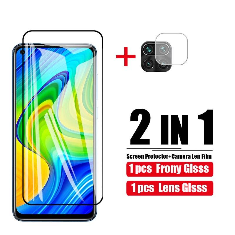 Protective Glass Tempered glass For Xiaomi Redmi Note 9 Screen Protector on Xaomi redmi note 9 Camera Protective Screen NOTE9