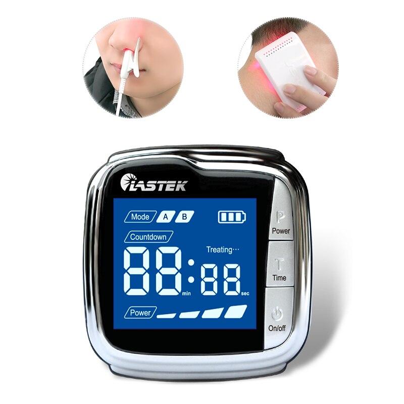 18 أقطاب ليزر المعصم ساعة العلاجية الفيزيائية لعلاج فرط اللزوجة ، فرط شحميات الدم والسكري