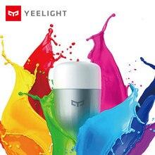 Lampadina intelligente Yeelight Blue II LED originale colorata (colore) E27 9W 600 lumen luce Smart Phone WiFi telecomando