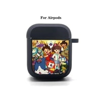anime yo kai watch airpods case cover apple airpods earphone bag soft silicone bluetooth protective earphone case