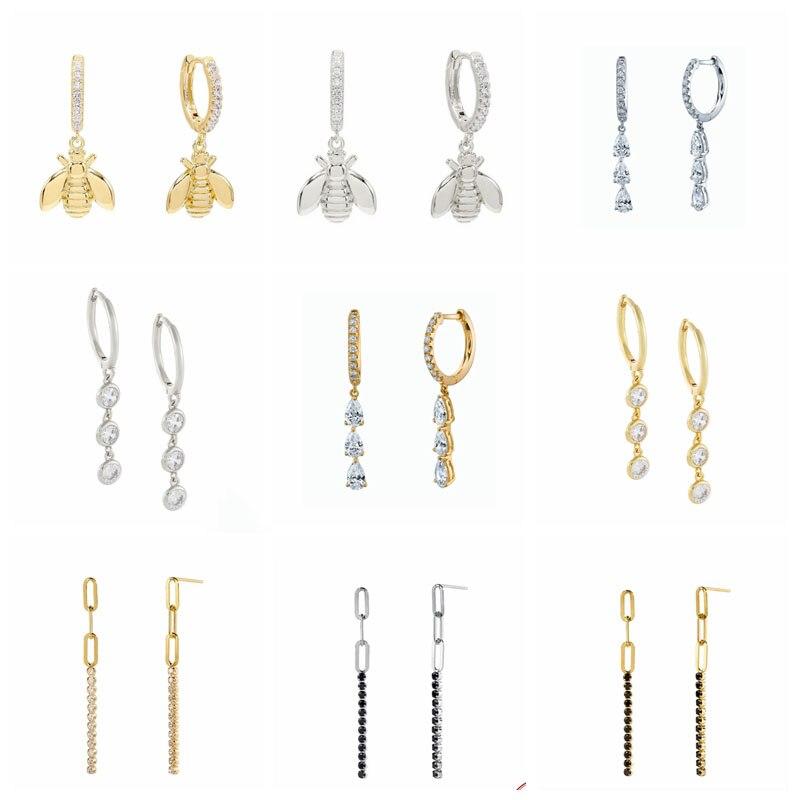 Автоклав-925-серебряные-серьги-кольца-для-женщин-великолепный-циркония-925-стерлингового-серебра-плата-уха-кольцо-мода-на-моноподе-медоносно