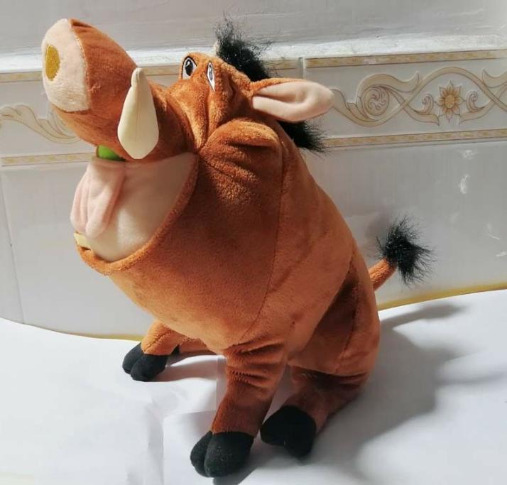 El Rey León Pumbaa jabalí salvaje cerdo de peluche de juguete lindos animales de peluche