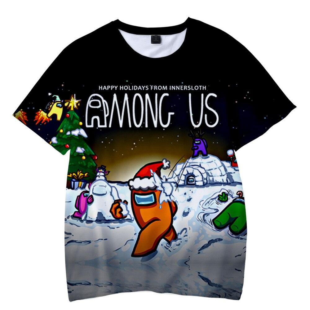 Entre nosotros, Camiseta Niño 3D T camisa Navidad de 2020 Niños Niñas...