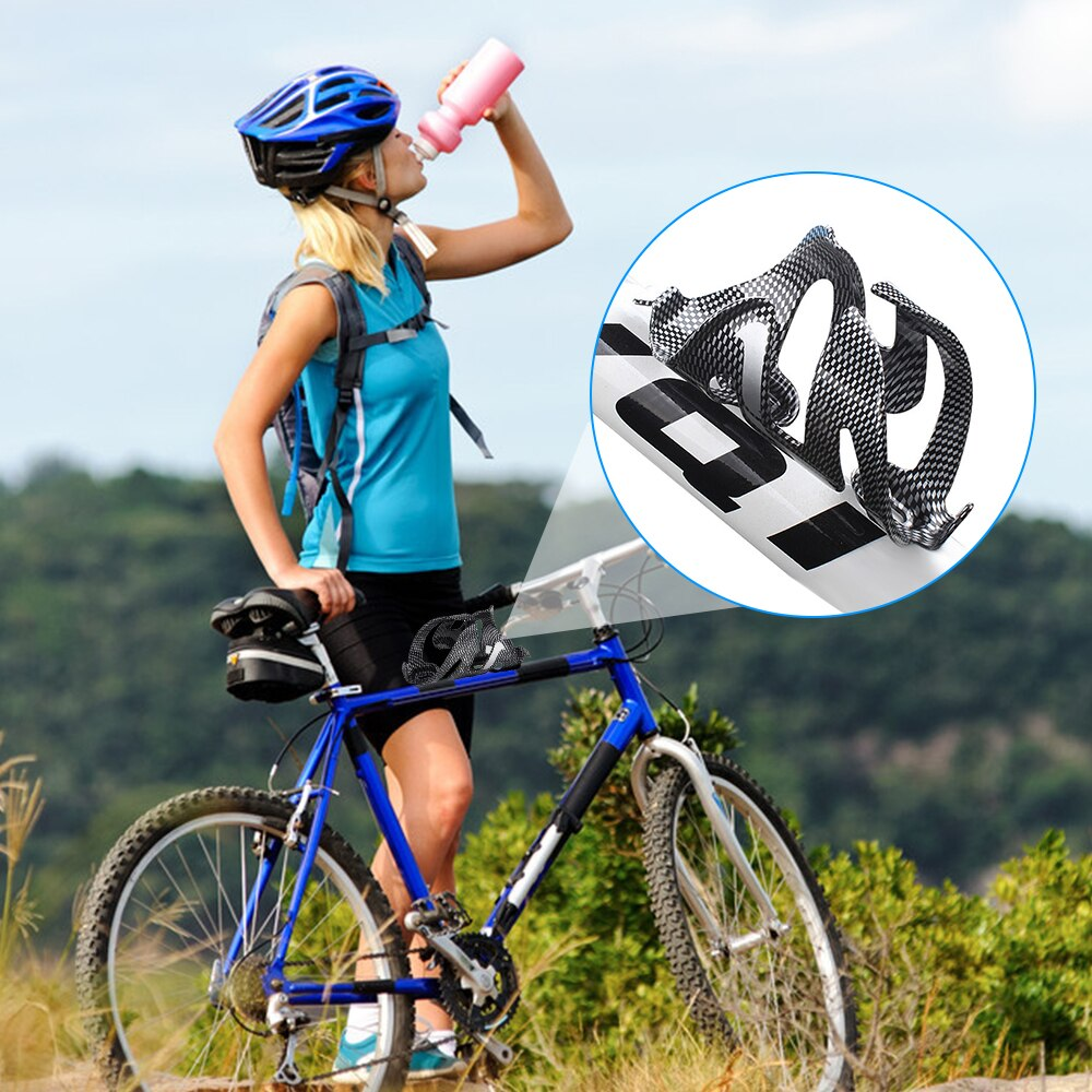 Bike Road Bike Bottle Cage Carbon Fiber Glass Water Bottle Cage Bottle Holder Bicycle Accessories My Water Bottle Holder