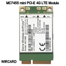 MC7455 LTE 4G карта mini PCI-E FDD-LTE TDD-LTE 4G модуль Cat6 для ноутбука