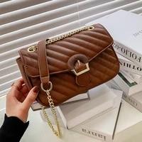 veryme fashion ladies shoulder pack leather square bag 2021 new high quality pu womens handbags chain tote wild crossbody bags
