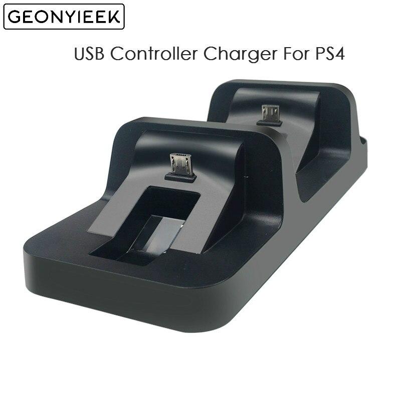 Para PS4 controlador USB cargador de doble ASA cargadores inalámbricos base de carga con USB doble estación soporte para Playstation 4