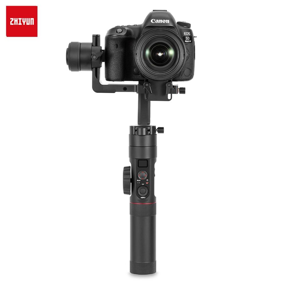 ZHIYUN Official Crane 2 Lite 3-Axis Gimbal Stabilizer WITHOUT Servo Follow Focus for DSLR Mirrorless Camera Canon 5D2/3/4
