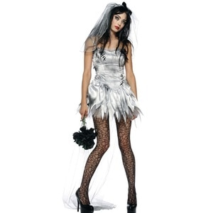 2020  Halloween Outlet  New Role-Playing Spiritual Love Hell God Women Zombie Game Uniforms halloween costumes for women