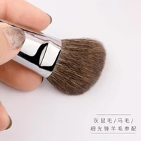 my destiny professional ebony makeup brush high quality natural skin series gray used for pony hair rouge and bronze