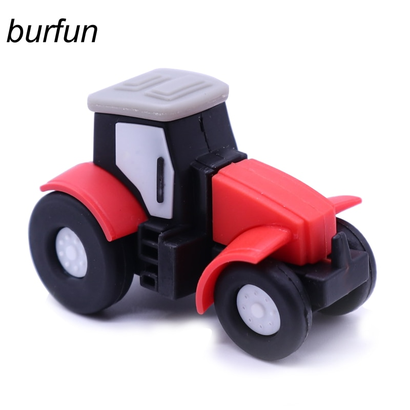 Usb Flash Drive Tractor Pendrive Cartoon Memory Stick Pen 128gb 64gb 32gb 16gb 8gb Car Mounted Music Special Offers