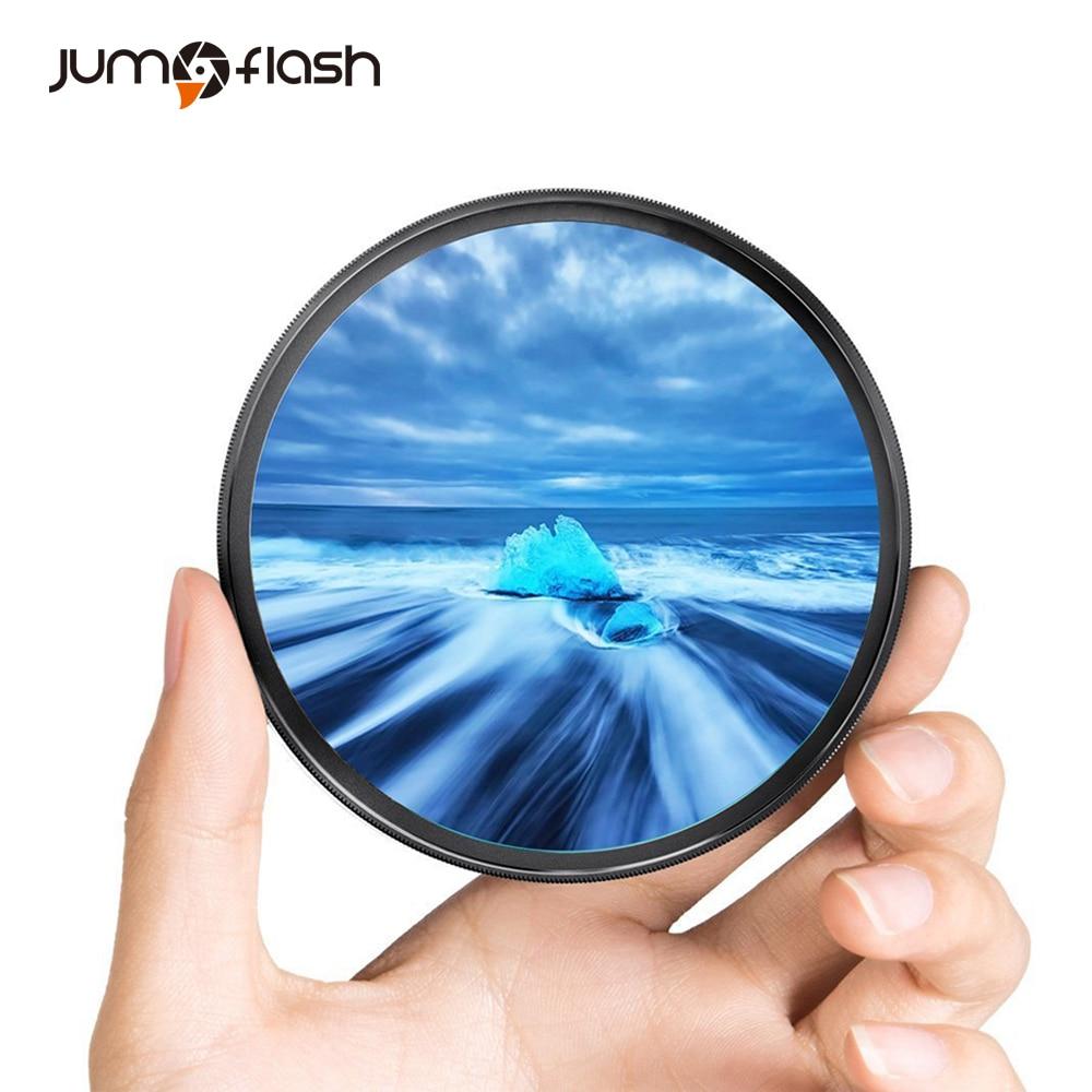 Jumpflash камера УФ фильтры 49 мм 52 мм 55 мм 58 мм 62 мм 67 мм 72 мм 72 мм 77 мм для Canon для Nikon аксессуары для объектива